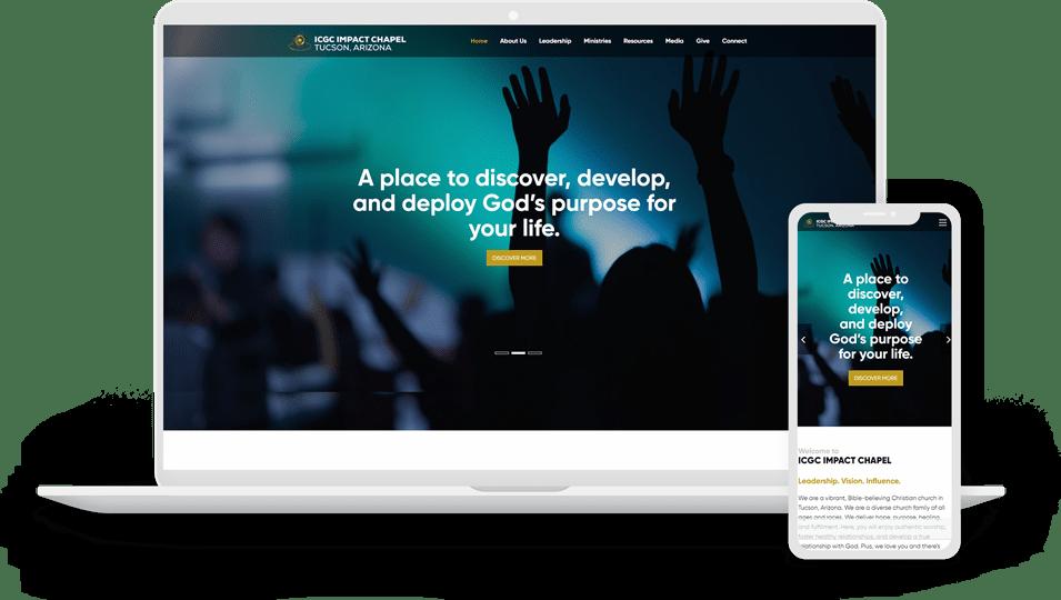 Church Website Design | Kava Media